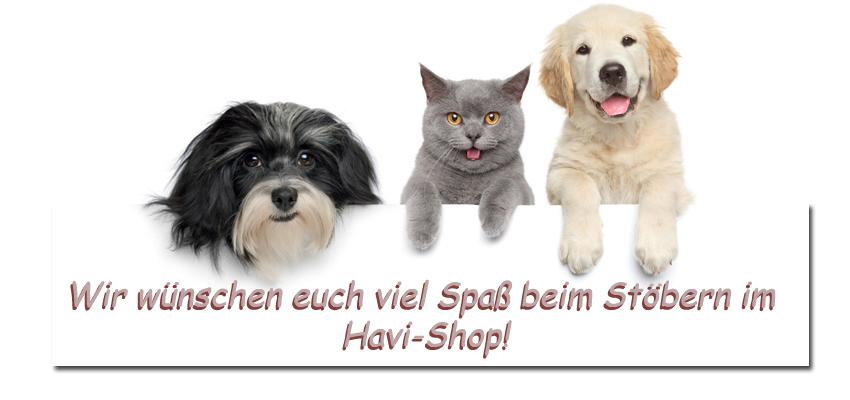 Herzlich Willkommen im Havi-Shop