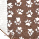 Petbed Paw SL braun/ beige